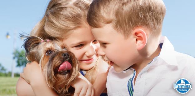 Capa de 'As melhores raças de cachorros para crianças'