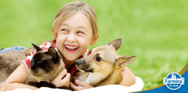 Capa de 'Cuidados na relação entre crianças e pets'