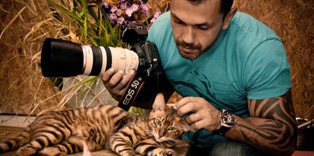 Capa de 'Dicas para fotografar o seu bichinho de estimação'
