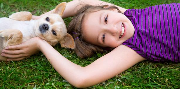 Capa de 'Animais e crianças: benefícios para a vida'